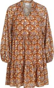 Sukienka Vila oversize z dekoltem w kształcie litery v w stylu casual