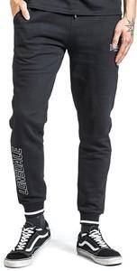 Czarne spodnie sportowe Emp z bawełny