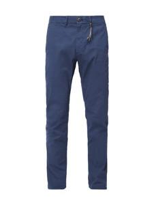 Niebieskie spodnie Montego z bawełny