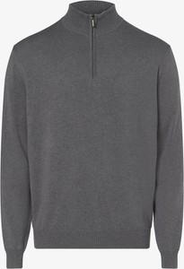 Sweter Andrew James w stylu casual ze stójką