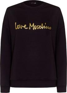 Czarna bluza Love Moschino krótka
