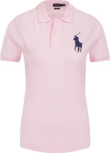 Różowa bluzka POLO RALPH LAUREN
