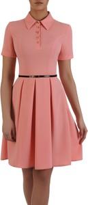 e02ec30437 koralowa sukienka na wesele jakie dodatki - stylowo i modnie z Allani