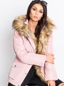 Różowa kurtka Sheandher.pl w stylu casual