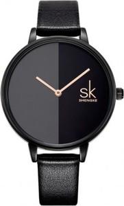 Czarny zegarek bobo bird zegarki kwarcowe