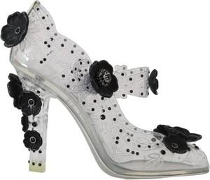 Czółenka Dolce & Gabbana ze skóry