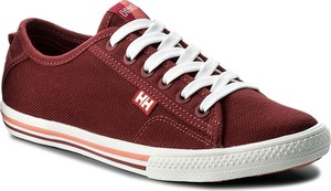 Tenisówki helly hansen - w oslofjord canvas 108-36.655 plum/persian red/shell pink