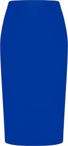 Niebieska spódnica Tomasz Sar midi