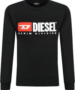 Czarna koszulka dziecięca Diesel