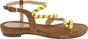 Sandały Lazamani z klamrami