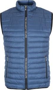 Niebieska kamizelka Trussardi Jeans