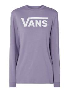 Fioletowa bluzka Vans z długim rękawem