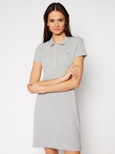 Sukienka Tommy Hilfiger z krótkim rękawem mini w stylu casual