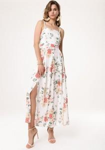 Sukienka born2be na ramiączkach w stylu boho maxi
