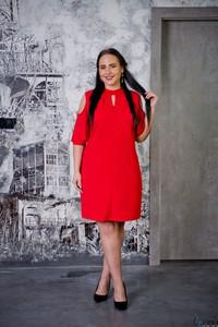 d32dd46aec Sukienka tono.sklep.pl w stylu casual dla puszystych midi