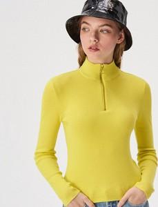 Złoty sweter Sinsay