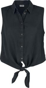 Czarny t-shirt Emp w stylu casual