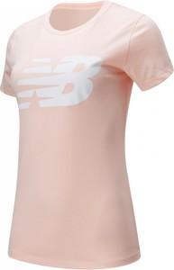 Bluzka New Balance w stylu casual z okrągłym dekoltem