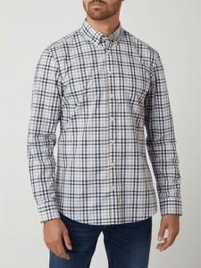 Brązowa koszula Christian Berg Men z bawełny