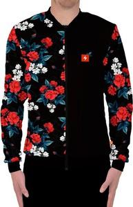 Czarna bluza Power Canvas z nadrukiem w młodzieżowym stylu