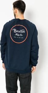 Bluza Brixton z bawełny w młodzieżowym stylu