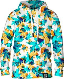 Niebieska bluza Dr.Crow Sklep w młodzieżowym stylu z nadrukiem