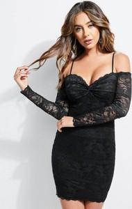 44455d6f04 Mała Czarna Koronkowa Sukienka Stylowo I Modnie Z Allani
