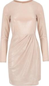 Sukienka Makover z długim rękawem mini