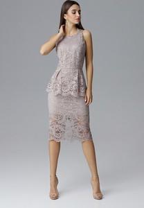 Sukienka N/A z okrągłym dekoltem
