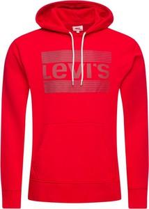 Czerwona bluza Levis