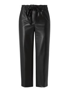 Czarne spodnie Cambio w rockowym stylu