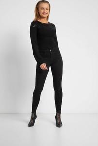 Czarne jeansy ORSAY w stylu casual