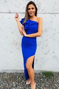 Niebieska sukienka fashion-freak.pl hiszpanka