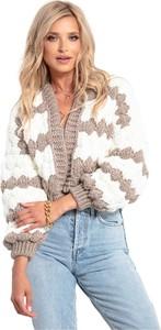 Brązowy sweter Fobya