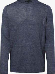 Niebieski sweter Drykorn z dzianiny