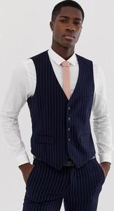 Granatowa kamizelka Burton Menswear