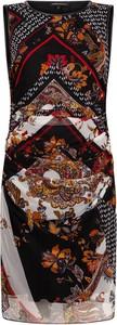 Sukienka Tramontana z okrągłym dekoltem mini