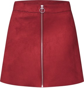 Czerwona spódnica Only w stylu casual