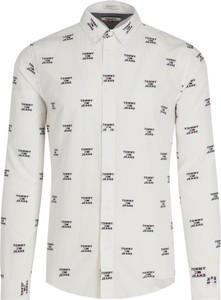 Koszula Tommy Jeans z długim rękawem z klasycznym kołnierzykiem