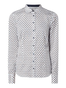 Bluzka Eterna z bawełny w stylu casual z dekoltem w kształcie litery v