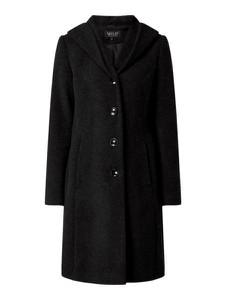 Czarny płaszcz Milo Coats z wełny