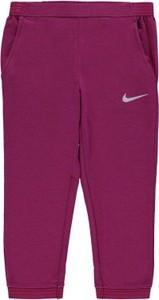 Fioletowe spodnie dziecięce Nike