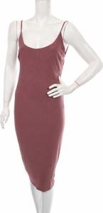 Sukienka Windsor midi z okrągłym dekoltem w stylu casual