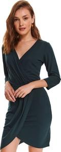 Sukienka Top Secret z długim rękawem koszulowa mini