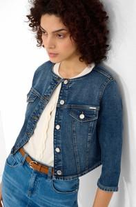 Kurtka ORSAY krótka z jeansu w stylu casual