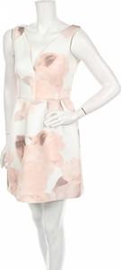 Sukienka Miss Selfridge bez rękawów mini rozkloszowana