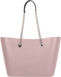 Różowa torebka O Bag duża na ramię