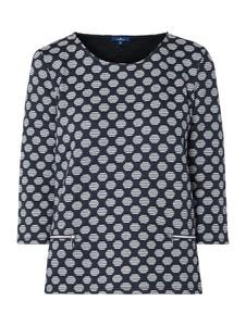 Bluza Tom Tailor z dzianiny w młodzieżowym stylu krótka