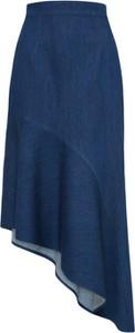 Spódnica EDITED z jeansu midi