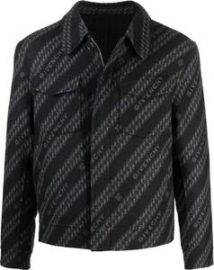 Czarna kurtka Givenchy z jedwabiu